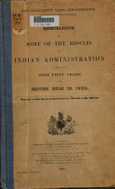 East India Fifty Years Administration