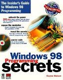 Windows 98 Programming Secrets