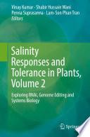 Salinity Responses and Tolerance in Plants  Volume 2