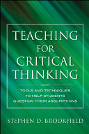 Pdf Teaching for Critical Thinking