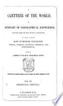 A Gazetteer of the World: Derrygate-Hensall
