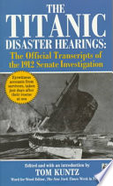 The Titanic Disaster Hearings Book PDF