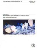 Report of the Workshop on Deep Sea Species Identification
