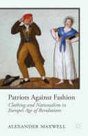 Patriots Against Fashion Pdf/ePub eBook