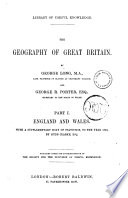 The Geography of Great Britain by George Long and George R  Porter Book PDF