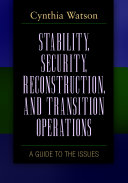 Stability  Security  Reconstruction  and Transition Operations