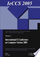 International e Conference on Computer Science  IeCCS 2005