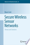 Secure Wireless Sensor Networks