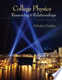 """""""College Physics: Reasoning and Relationships"""" by Nicholas Giordano"""