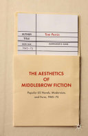 The Aesthetics of Middlebrow Fiction Pdf/ePub eBook