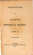 Pdf Collections of the New Hampshire Historical Society
