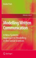 Modelling Written Communication