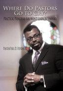 Where Do Pastors Go to Cry