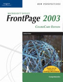 New Perspectives on Microsoft Office FrontPage 2003 Book