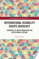 International Disability Rights Advocacy