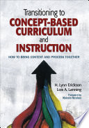 Transitioning to Concept Based Curriculum and Instruction
