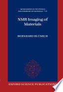 NMR Imaging of Materials