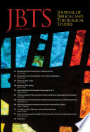 Journal Of Biblical And Theological Studies Issue 4 2