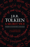 Pdf A Secret Vice: Tolkien on Invented Languages