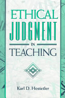 Ethical Judgment In Teaching