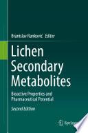 Lichen Secondary Metabolites