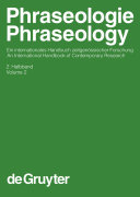 Phraseologie / Phraseology