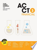 Cover of ACCT3 Financial