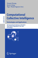 Pdf Computational Collective Intelligence -- Technologies and Applications