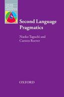 Cover of Second Language Pragmatics