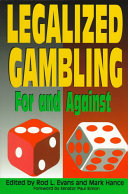 an introduction to the legalization of gambling in ohio Gambling is a multi-billion dollarindustry and amy j seifert said in her article the stakes that gambling hasbecome one of the nation's fastest growing industries (seifert 2) ohio canget a piece of that if they legalize all forms of gambling.