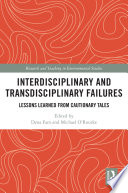 Interdisciplinary and Transdisciplinary Failures