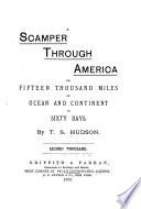 A Scamper Through America