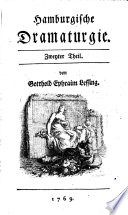 Hamburgische Dramaturgie  , Band 2