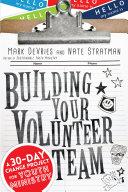 Building Your Volunteer Team
