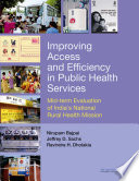 Improving Access and Efficiency in Public Health Services Book