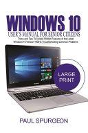 Windows 10 User S Manual For Senior Citizen