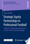 Strategic Equity Partnerships in Professional Football