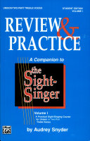 The Sight-Singer: Review & Practice for Unison/Two-Part Treble Voices [correlates to Volume I] Pdf/ePub eBook