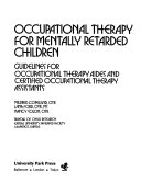 Occupational Therapy for Mentally Retarded Children