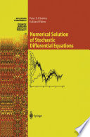 Numerical Solution of Stochastic Differential Equations Book
