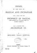 Israel in the Days of Haggai and Zechariah ebook