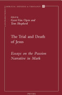 The Trial and Death of Jesus