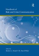 Handbook of Risk and Crisis Communication Pdf/ePub eBook