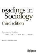 Readings in Sociology