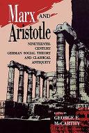 Marx and Aristotle