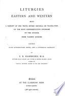 Liturgies eastern and western0