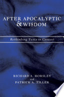 After Apocalyptic And Wisdom