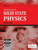 Introduction to Solid State Physics Book