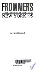 Frommer's City Guide to New York 1995