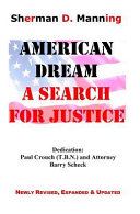 American Dream  a Search for Justice